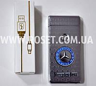 Зажигалка электронная Jin Jun Mercedes-Benz USB Charge