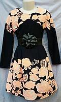 Платье Доминика розы р.134-152