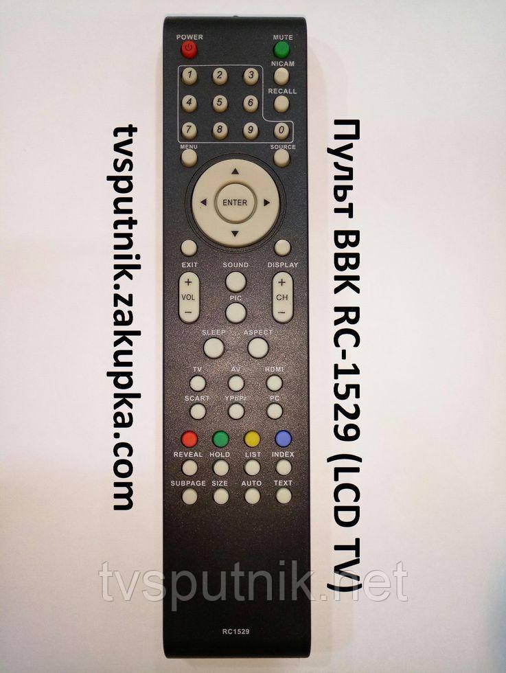 Пульт BBK RC1529 (LCD TV)