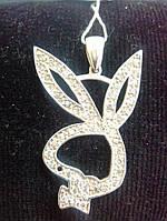 Подвеска серебряная Playboy Плейбой
