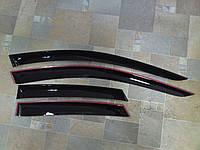 Дефлекторы окон (ветровики), комлект. (Cobra Tuning) - Tiguan - Volkswagen - 2008 V21808
