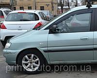 Дефлекторы окон к-т 2 шт., передние, тёмные. (EGR) - Matrix - Hyundai - 2000