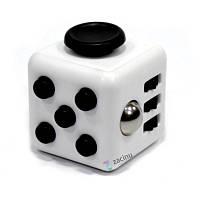 Кубік-антистрес Spinner Fidget Cube Білий(993268)