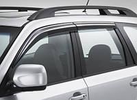 Дефлекторы окон, комплект 4 штуки, темные, EGR - Forester - Subaru - 2008
