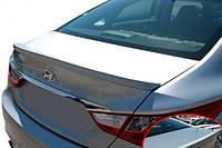 Задний лип спойлер, черный (MOBIS) - Sonata - Hyundai - 2010
