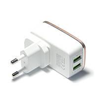 Зарядний пристрій LDNIO A2204 + cable Lightning New powerful charging ser. White