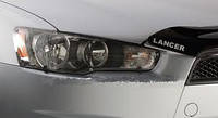 Защита передних фар, прозрачная, EGR - Lancer - Mitsubishi - 2007