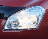 Защита передних фар, прозрачная, EGR - Qashqai - Nissan - 2007