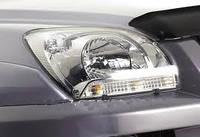 Защита передних фар, прозрачная, EGR - Sportage - Kia - 2005