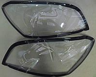 Защита передних фар, прозрачная, с черной окантовкой. (EGR) - Rav 4 - Toyota - 2010
