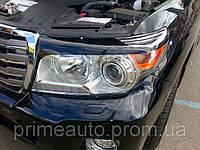 Защита передних фар, прозрачная, с черной окантовкой. (EGR) - Land Cruiser - Toyota - 2012