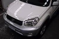 Защита передних фар, прозрачная. (Airplex) - Rav 4 - Toyota - 2003
