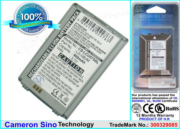 Аккумулятор LG LG-GBJM 980 mAh Cameron Sino