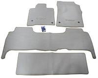 Коврики тканевые  к-т 5 шт. 3 ряда (LEXUS) бежевый - LX - Lexus - 2008