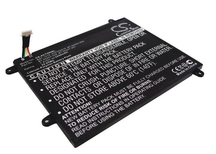 Аккумулятор Acer Iconia Tablet A500 3250 mAh Cameron Sino