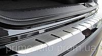 Хромированная накладка на задний бампер, с загибом  (Carmos) - Vito/Viano - Mercedes - 1997