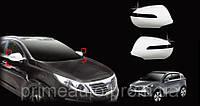 Хромированные накладки на зеркала с поворотниками (Clover) - Sportage - Kia - 2010