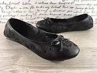 Женские балетки, черным цветом
