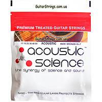 Струны Acoustic Science 11-50-BR Bronze 80/20 X-Light 11-50