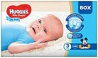 Подгузники Huggies ULTRA COMFORT Box для мальчиков 3 (5-9кг) 108 шт.
