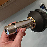 Фен для сварки ПВХ , ТПО , Полипропилена  . Мощность- 1600 w. Гарантия 3 года.  стандарт - leister