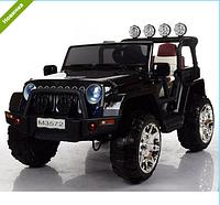 Детский электромобиль ДЖИП M 3572EBLR-2 черный ***