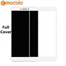 Защитное стекло Mocolo Full сover для Xiaomi Mi Max 2 белый