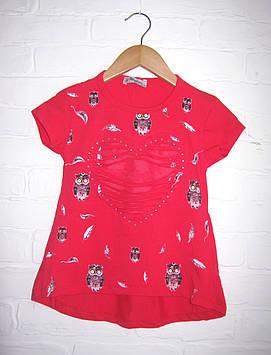 """Детская футболка для девочки """"Совуня"""""""