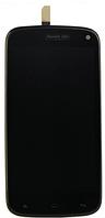 Дисплей (экран) для Fly iQ4410 Quad Phoenix/Gionee E3  + с сенсором (тачскрином) и рамкой белый