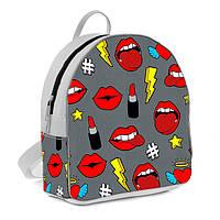 Городской рюкзак с принтом Поп арт