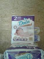 Подгузники Dada 2 Premium mini 3-6 кг 64 шт