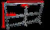 Металлоконструкция для баннера 4м. на 2.5м.