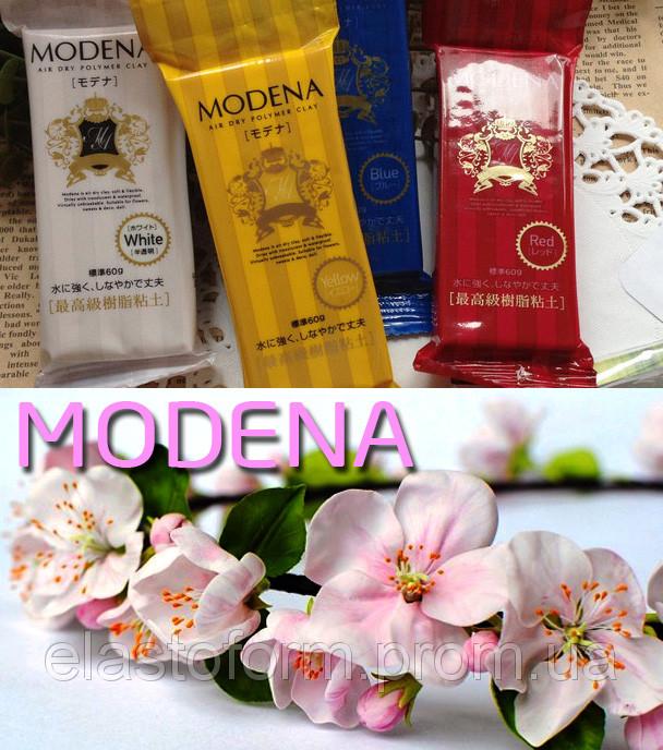 Modena Модена (Япония) холодный фарфор, cамоотвердевающий пластик, 60 г, белый.