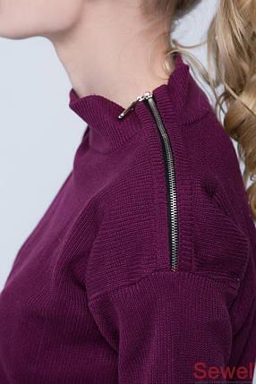 Модный женский вязаный свитер, фото 2