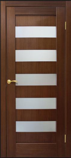 Двери межкомнатные Коллекции Мегаполис Рим со стеклом Омис