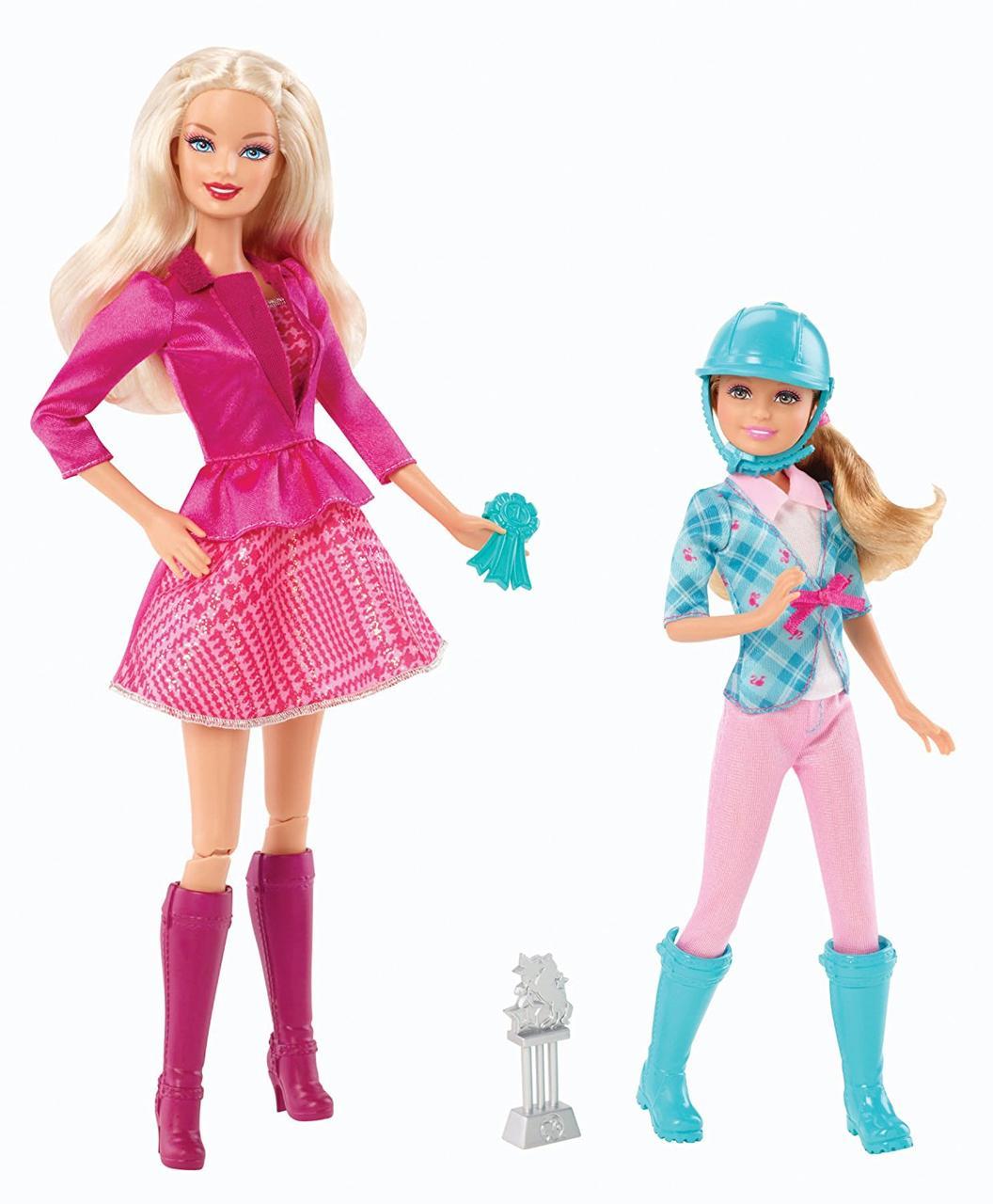 """Игровой набор Барби и Стейси Соревнование на коня серии """"Барби и ее сестры""""/Barbie and Stacie in a Pony Tale"""