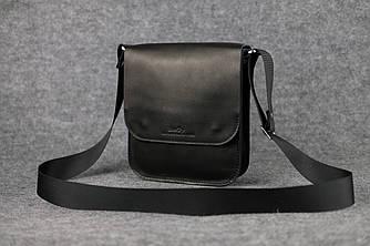 Мужская сумка через плечо |10106| Черный