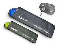 Спальный мешок туристический типа мумия теплый и легкий ICEBERG TRECK 5 *C