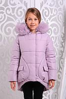 Куртка зимняя для девочек (разные цвета) 7-11 лет
