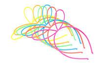 Обруч с ушками Лунтика пластиковый 6 цветов, фото 1