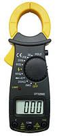 Токовые клещи dt-3266e, мультиметр цифровой, прозвонка цепи, тест диодов, определение фазы, 2 х ааа