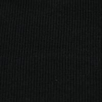Трикотажное полотно рибана г/к сл чёрный