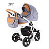 Детская универсальная коляска 2 в 1 ADAMEX Avila 02PY