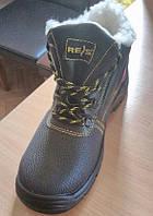 Ботинки утепленные рабочие REIS, c металлическим подноском BRYES-T-SB
