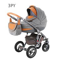 Детская универсальная коляска 2 в 1 ADAMEX Avila 03PY