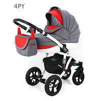 Детская универсальная коляска 2 в 1 ADAMEX Avila 04PY