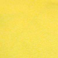 Трикотажное полотно рибана г/к сл жёлтый
