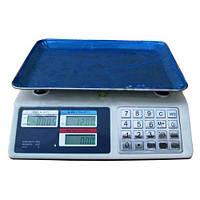 Торговые электронные весы до 50 кг 982S Metall Button