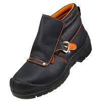 Ботинки сварщика с защитным клапаном