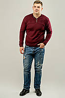 Мужской свитер с пуговицами